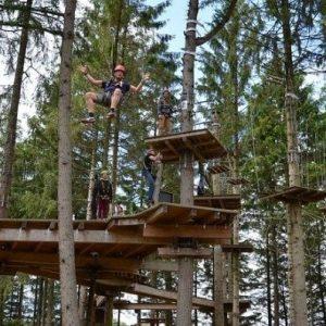 Campingplatz Clos De La Chaume: Erlebnispark Bol D'air Aventure