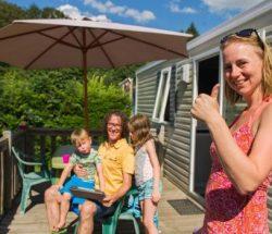 Familienurlaub auf einem Naturcampingplatz in den Vogesen