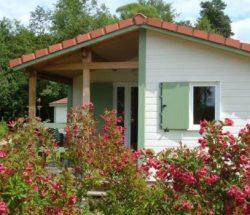 Holzchalet in den Vogesen, Campingplatz Au Clos de la Chaume