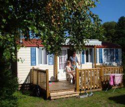 Campingplatz Clos De La Chaume: Cottage Chene