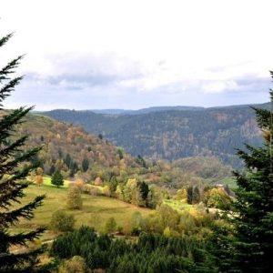Campingplatz Clos De La Chaume: Vogesen besuchen Corcieux
