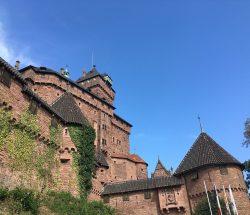 Campingplatz Clos De La Chaume: Außenansicht der Hohkönigsburg