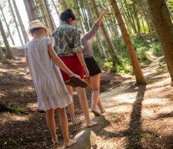 Campingplatz Clos De La Chaume: Barfußpfad