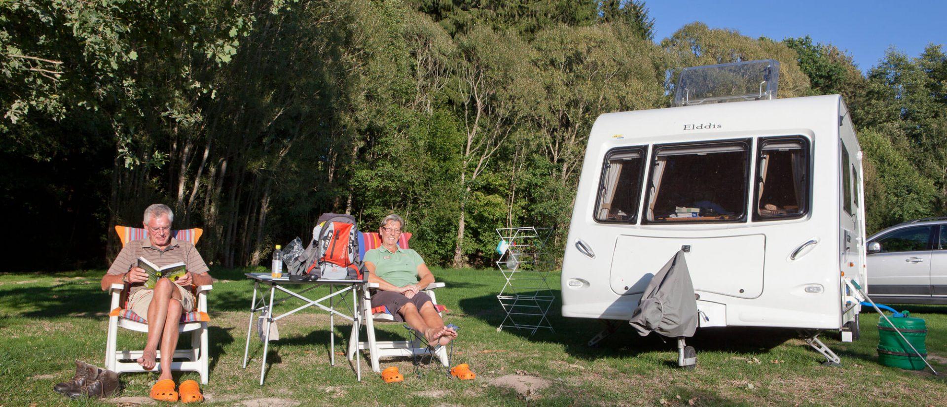 Camping Clos De La Chaume : Emplacement Confort Camping Au Clos De La Chaume Vosges Camping